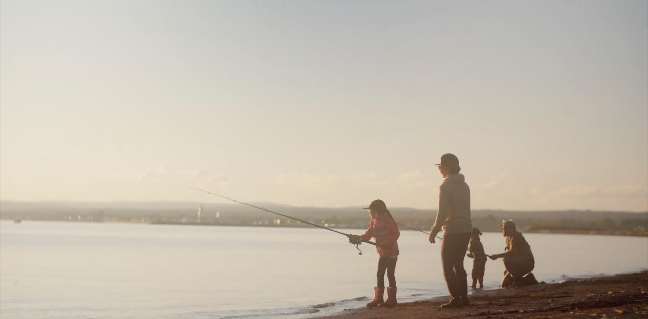 6 bonnes raisons pour apprendre à pêcher à vos enfants