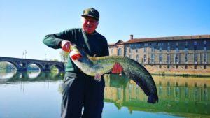 Mathieu Colzato, moniteur guide de pêche silure