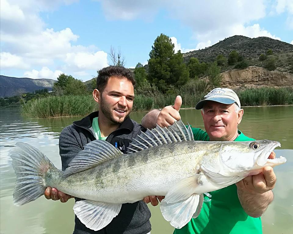 Romain Lavergne, guide de pêche à Mequinenza