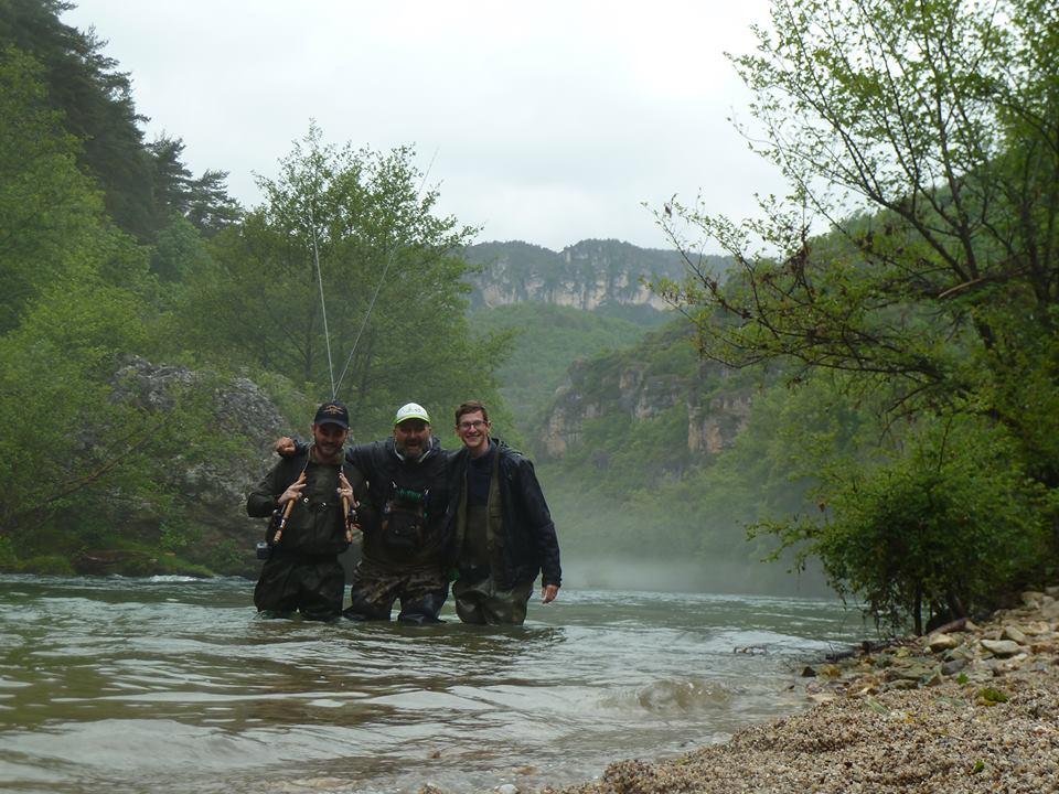 Damien Heran, guide de pêche en Aveyron et spécialiste de la pêche au tenkara