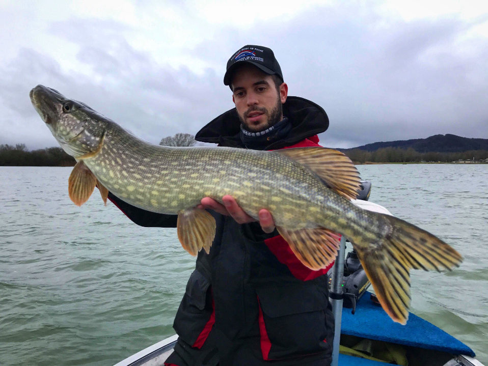 Steve Blind, moniteur guide de pêche en Lorraine