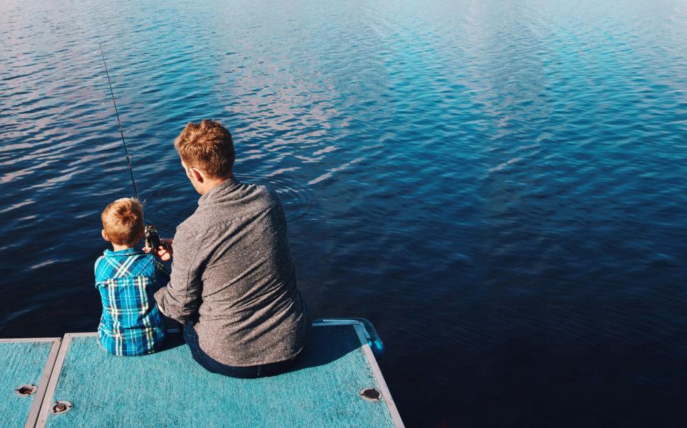 Apprendre à pêcher à son enfant