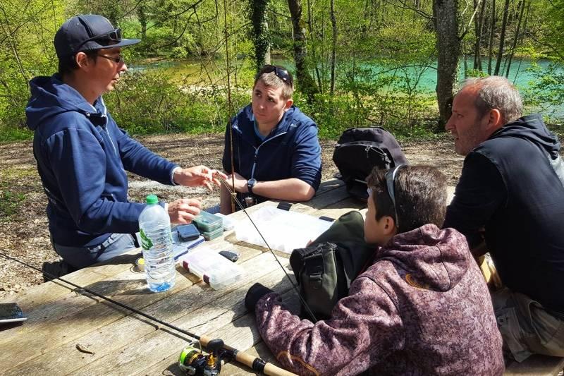 Bertrand Masse : Guide de pêche en Haute-Marne