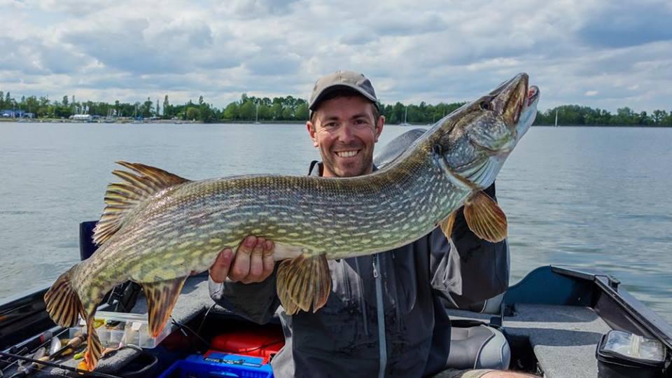 Mathieu Romain, moniteur guide de pêche en Alsace