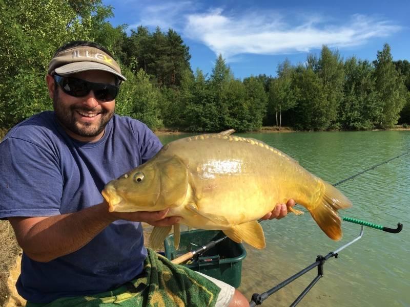 Lionel Fumagalli, moniteur guide de pêche en Franche-Comté