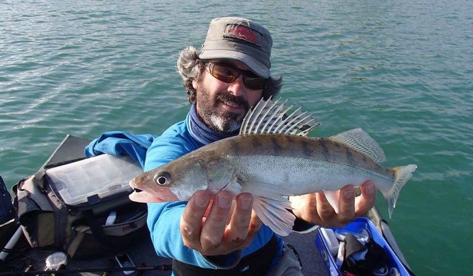 Stéphane Legentilhomme, moniteur guide de pêche en Ariège