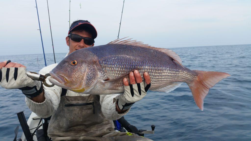 Fabien Harbers guide de pêchedenti-5kg