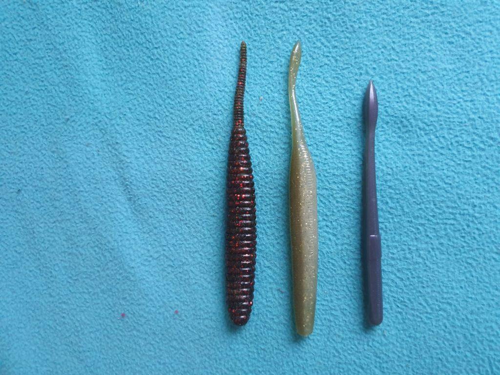 1. Le Worm : Un leurre à black-bass tout en finesse