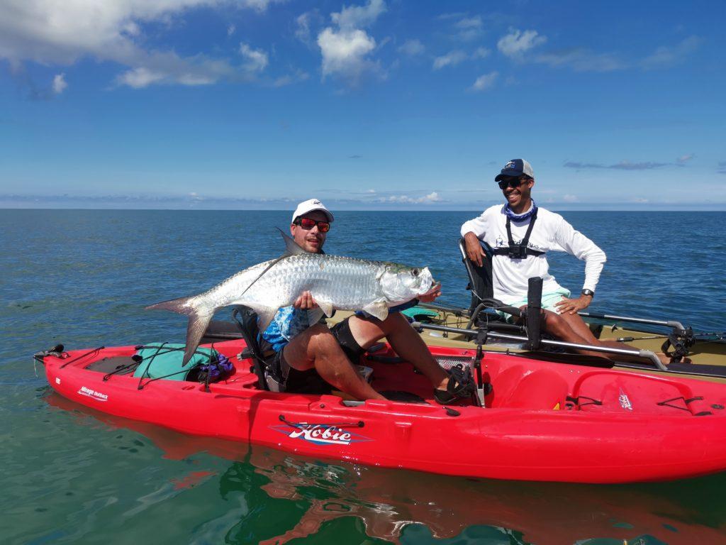 tarpon guadeloupe kayak
