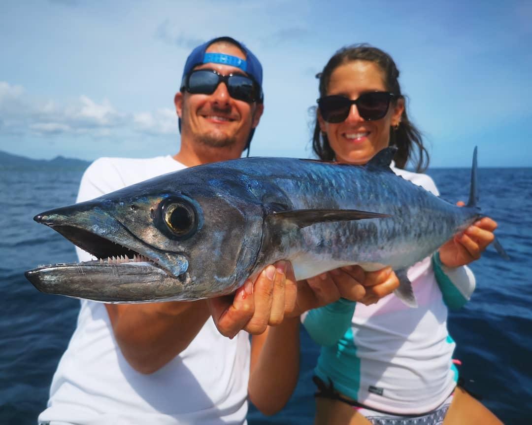 Mr and Mrs Fish: un couple qui à la pêche!