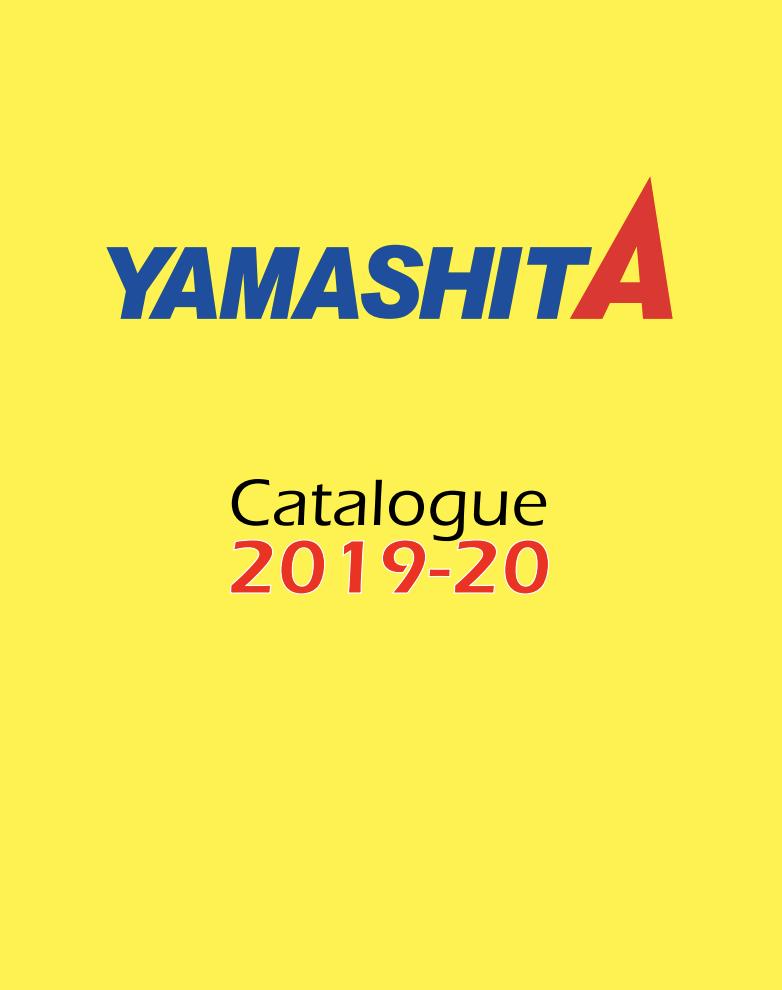 Catalogue Yamashita 2020