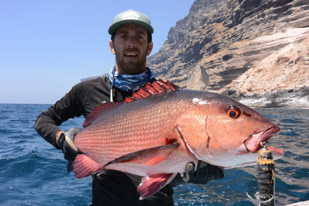 Tanguy Marlin carpe rouge