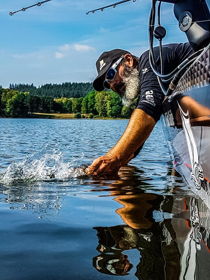 Cécrick Plasseau guide de pêche