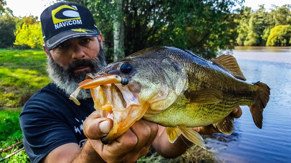 Cédrick Plasseau - Guide de pêche black bass