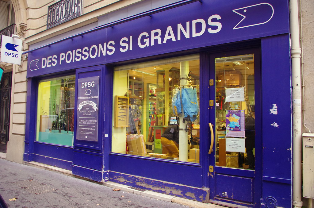 Magasin de Pêche Paris - DPSG