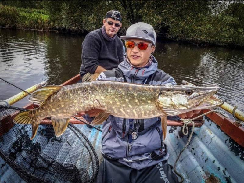 Pêche du brochet en Irlande avec Anthony Manson-Caron