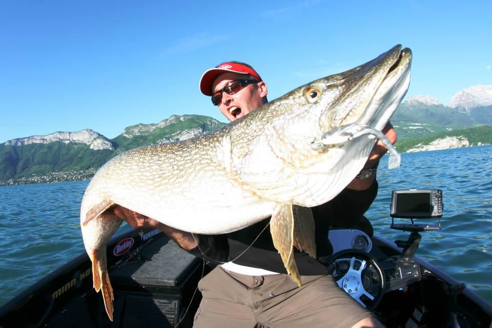 Top 3 : Brochet de 137 cm pris par Sylvain Legendre sur le lac d'Annecy
