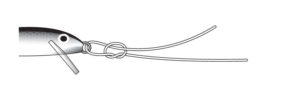 Le noeud Rapala étape 2