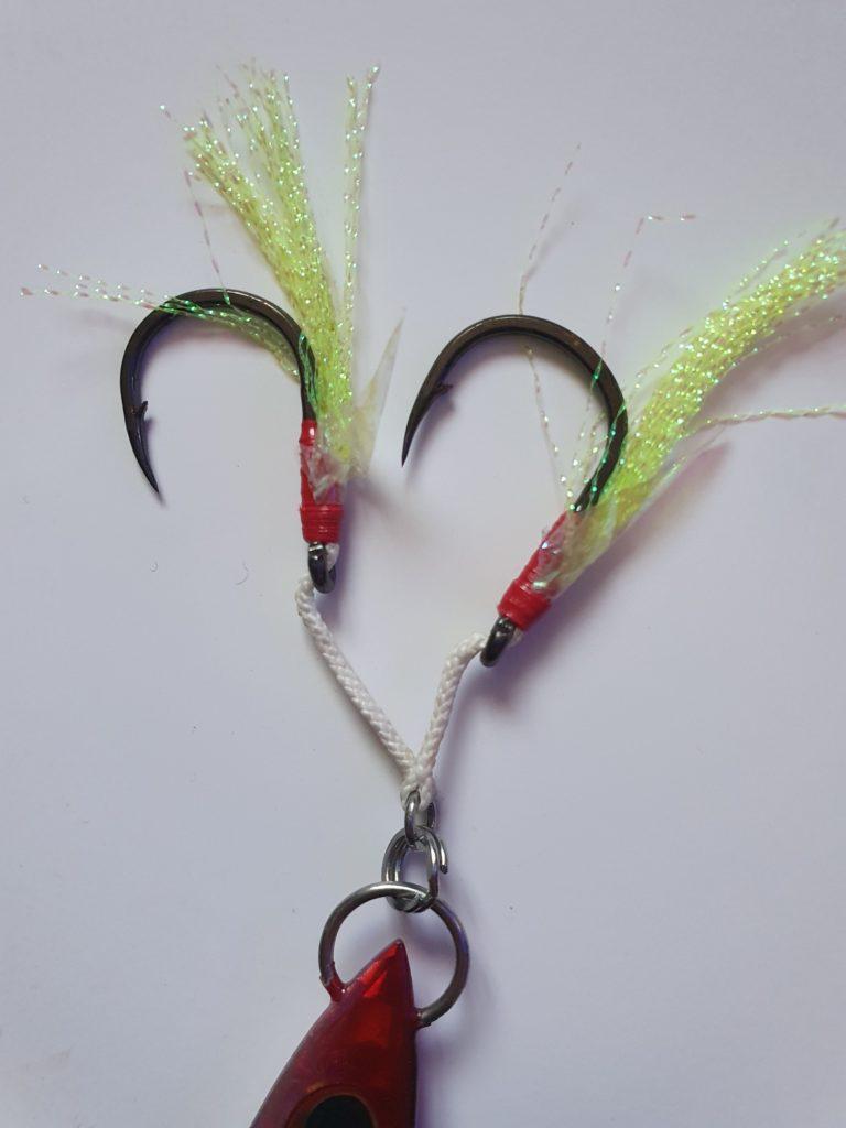 Montage Assist Hooks pour la pêche en jigging